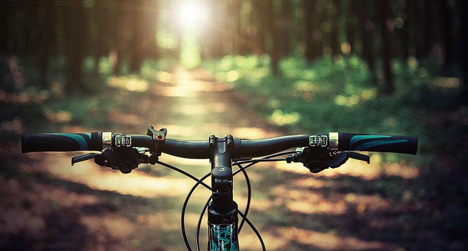 Att hitta en cykel på cykelrea